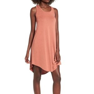 Leith Tank Midi Dress Beautiful Terra-cotta Color